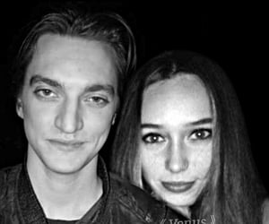 black and withe, edit, and richard harmon image