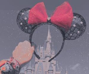 mickey ears, disney, and edits image