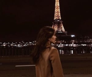 eiffel tower, girl, and paris image