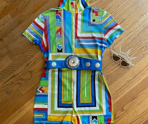 1960s, groovy, and romper image