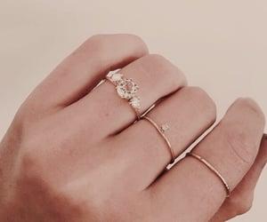 aesthetic, hand, and jewellery image