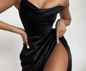 beautiful, black, and pretty image