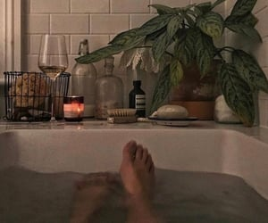 bath, relax, and aesthetic image