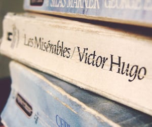 book, les miserables, and victor hugo image