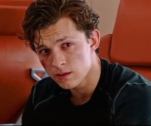 Marvel, sad, and spiderman image