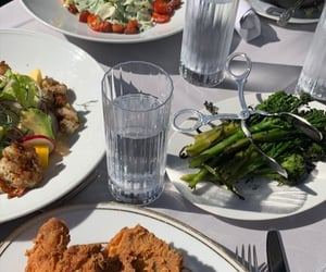 asparagus, food, and foods image