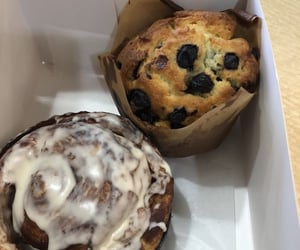 aesthetic, bakery, and blueberries image