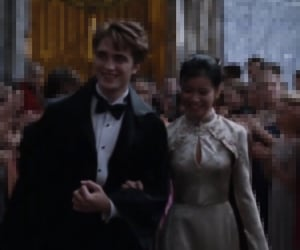 cedric diggory, katie leung, and harry potter rp image