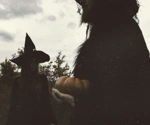 witch, autumn, and fall image