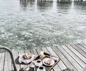 breakfast, beautiful, and ocean image