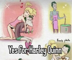 batman, DC, and harley quinn image