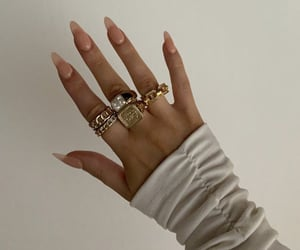 jewelry, nails, and long nails image