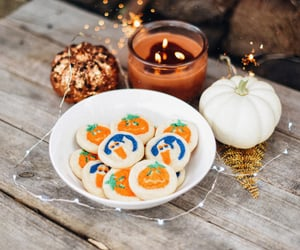 autumn, bokeh, and Cookies image