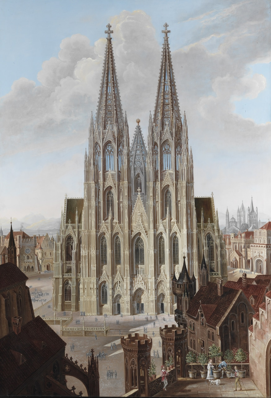 19th century, art, and gothic image