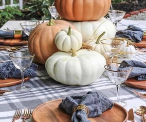 inspiration, fall party, and diy home decor image