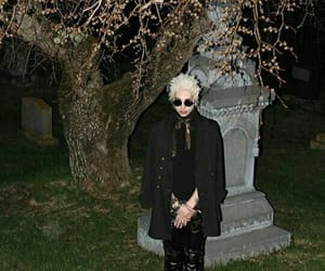 goth, graveyard, and grunge image