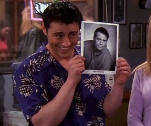 2000, 90s, and joey tribbiani image