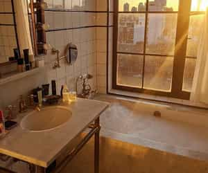 home, bathroom, and view image