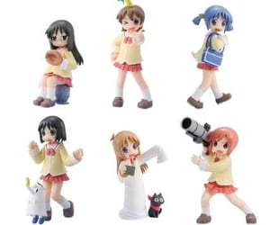 figurines, school girl, and anime image