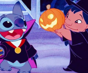 disney, Halloween, and lilo image