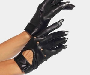dress and gloves image