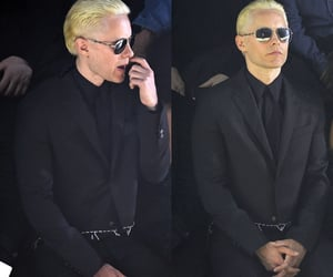 30 seconds to mars, blonde, and jared leto image