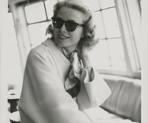 actress, black and white, and grace kelly image