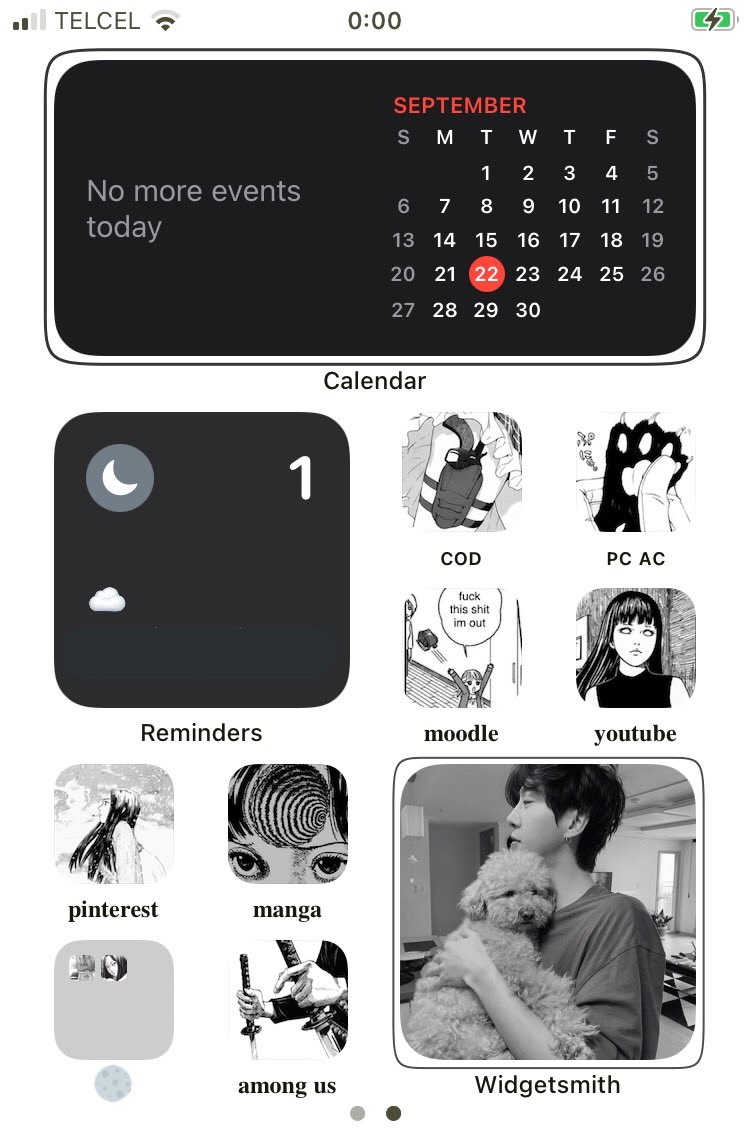 """484 Images About Нˆðð'𝐏𝐎 Ã'¤ãƒ³ã'¹ãƒ""""レーション Ios 14 On We Heart It See More About Ios 14 Iphone And Homescreen"""