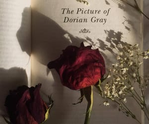 aesthetic, books, and dorian gray image