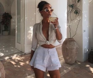 fashion, neutral, and vacation image