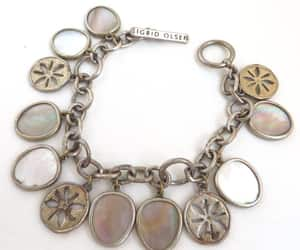charm bracelet, etsy, and vintage jewellery image