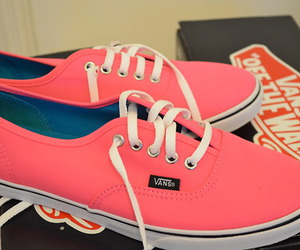 vans, fashion, and pink image