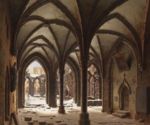 abandoned, art, and gothic image