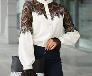 black & white, fashion, and glamorous image