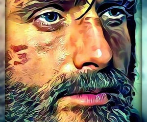 art, digital art, and andrew lincoln image