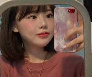 iphone, cutegirl, and 홍영기 image