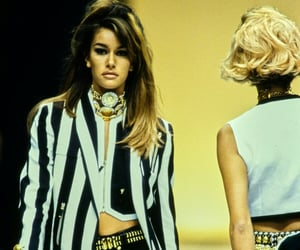 90s, hairstyles, and runway image