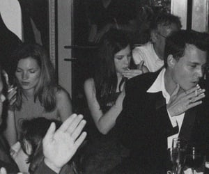 johnny depp, kate moss, and liv tyler image