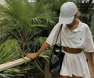 bag, skirt, and style image