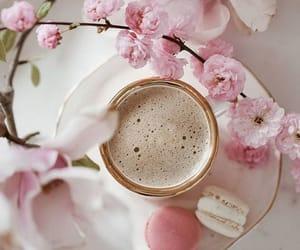 bloom, vintage, and cafe image
