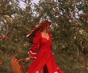 ginger hair, red orange, and witchcraft image