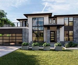 house, modern, and modern house image