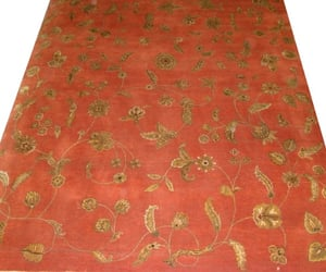 home decor, wool area rug, and floral collection image