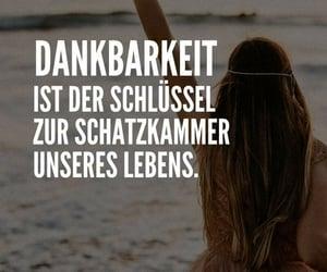 deutsch, dankbar, and text image