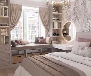 bedroom, ideas, and decor image