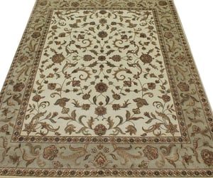 floral collection, silk flower rugs, and wool area rug image