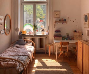 aesthetic, bedroom, and room goals image