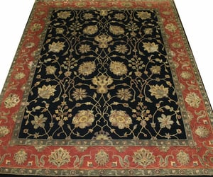 home decorating, fine hand-knotted rug, and floral collection image
