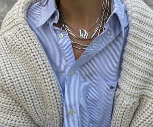 fashion, dior, and necklace image