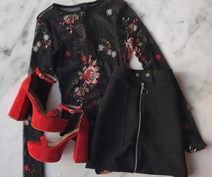 all star, black, and blouse image